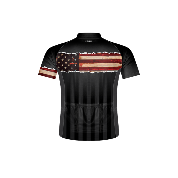 Primal Wear Men's Ol' Glory Bike Jersey - Back