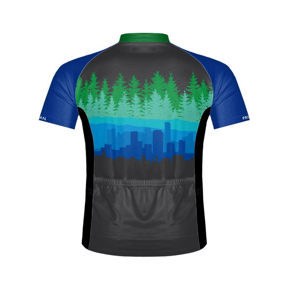 Primal Wear Men's Urban Edge Bike Jersey - Back