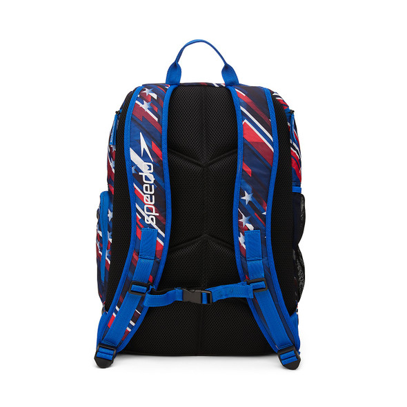 Speedo USA Printed Teamster 2.0 Backpack - Back