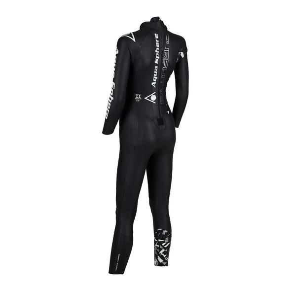 Aqua Sphere Women's Pursuit Wetsuit - Back