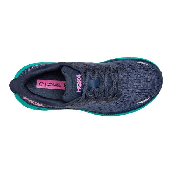 HOKA ONE ONE Women's Clifton 8 Wide Shoe - Top