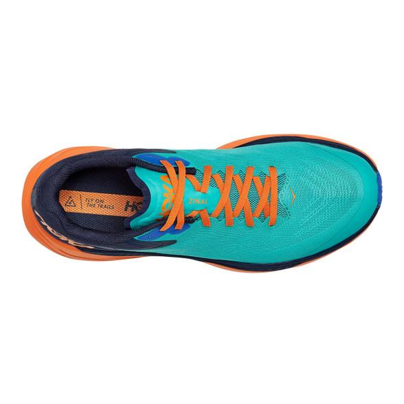 HOKA ONE ONE Men's Zinal Trail Shoe - Top