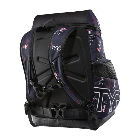 TYR Alliance 45L TYR Logo Backpack - Back
