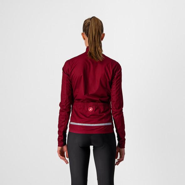 Castelli Women's Go W Cycling Jacket - Back