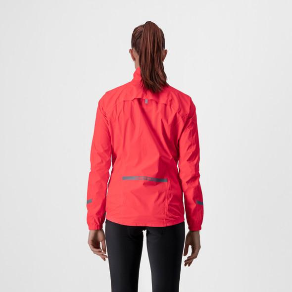 Castelli Women's Emergency 2 W Rain Jacket - Back