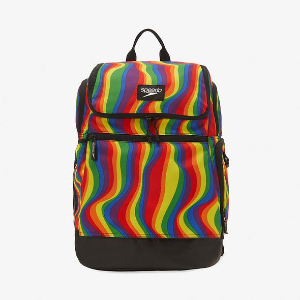 Speedo Rainbow Printed Teamster 2.0 Backpack