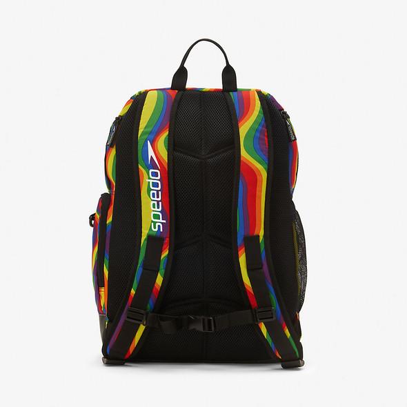 Speedo Rainbow Printed Teamster 2.0 Backpack - Back