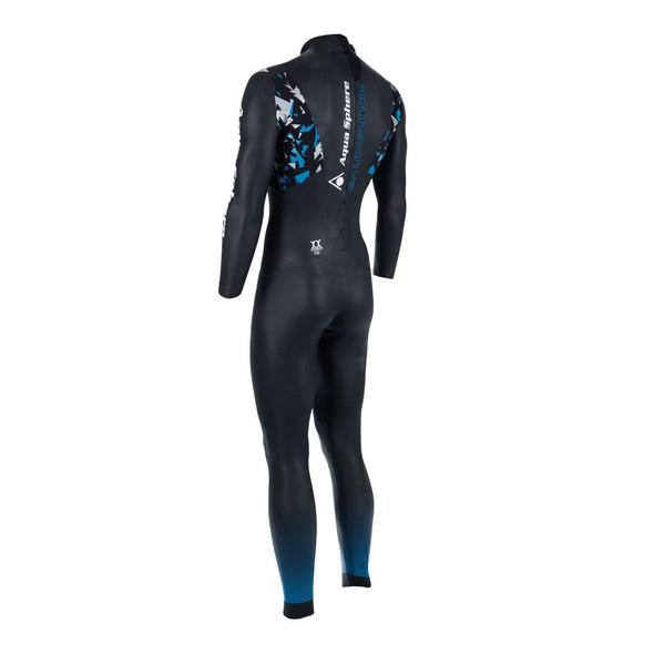Aqua Sphere Men's Aqua Skin Full Suit V3 - Back