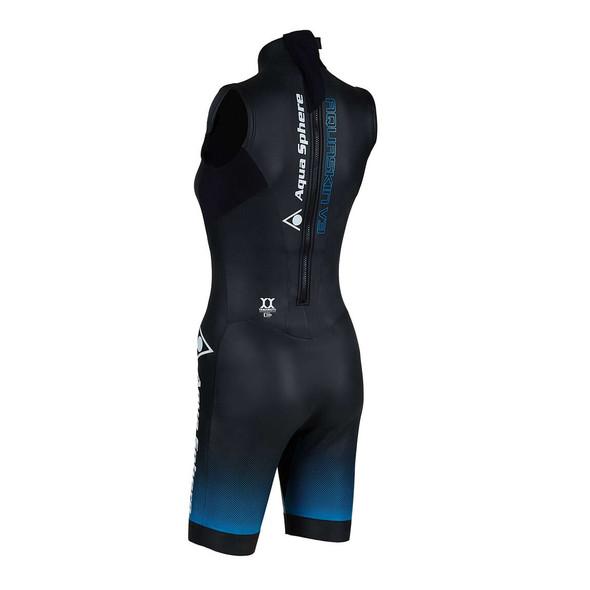 Aqua Sphere Women's Aqua Skin Shorty V3 - Back