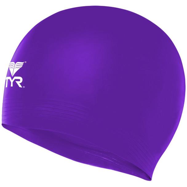 TYR Solid Latex Cap