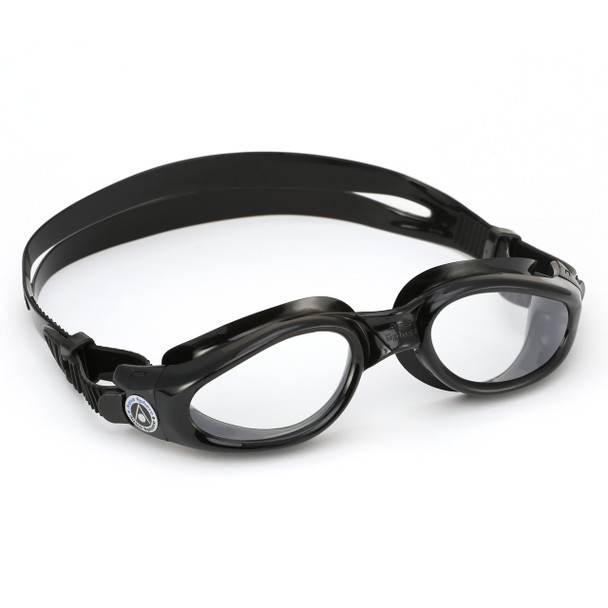 Aqua Sphere Kaiman Swim Goggles With Clear Lenses For Smaller Faces