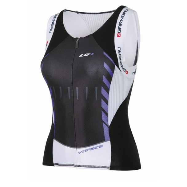 Louis Garneau Women's Elite Lazer Tek Sleeveless Tri Top