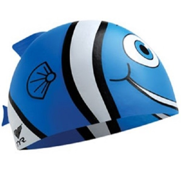 TYR Youth Happy Swim Cap