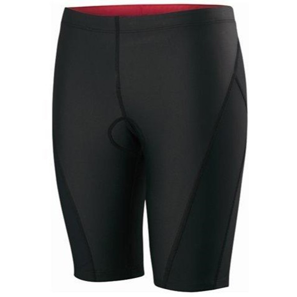 Nike Women/'s Triathlon Half Tight Short TESS0005-100 Black//White