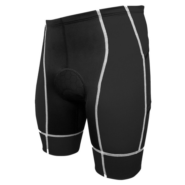 DeSoto Men's Forza Tri Short With Pockets