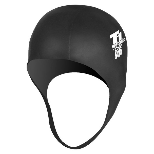 DeSoto GreenGoma Neoprene Swim Cap