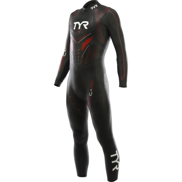 TYR Men's Hurricane Category 5 Full Sleeve Wetsuit
