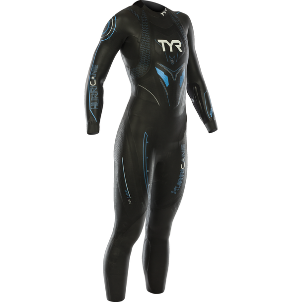 TYR Women's Hurricane Category 5 Full Sleeve Wetsuit