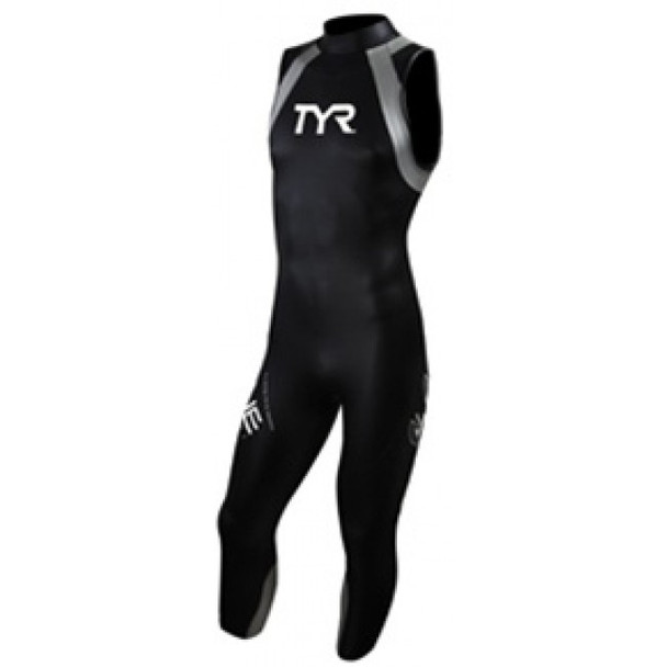 REPAIRED: TYR Men's Hurricane Category 1 Sleeveless Wetsuit