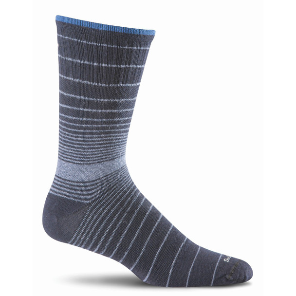Sockwell Men's Plantar Ease Crew Compression Sock
