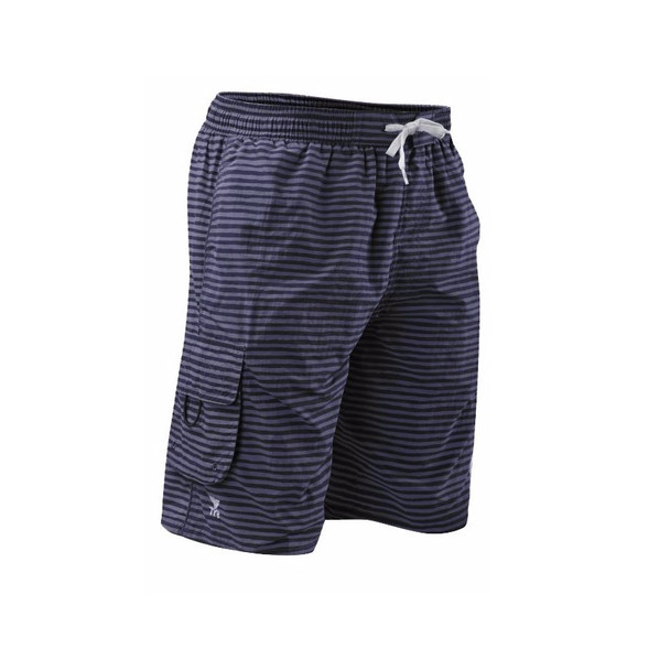 TYR Men's Micro Stripe Challenger Swim Short