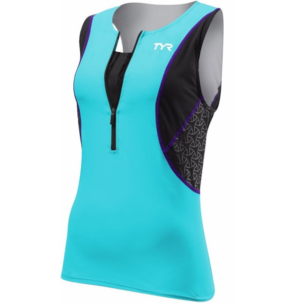 TYR Women's Competitor Tri Singlet with Bra