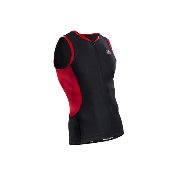 Sugoi Men's RS Tri Tank - Chili Red