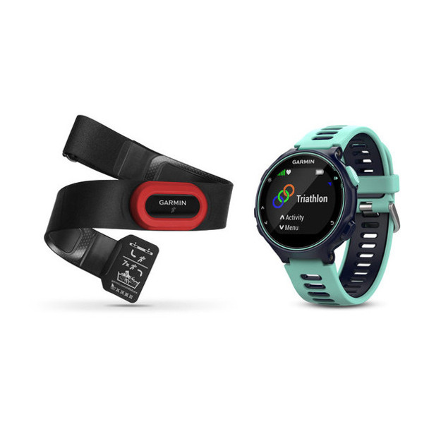 Garmin Forerunner 735XT GPS Multisport Watch Run Bundle
