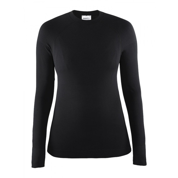 Craft Women's Warm Baselayer Crewneck - Black