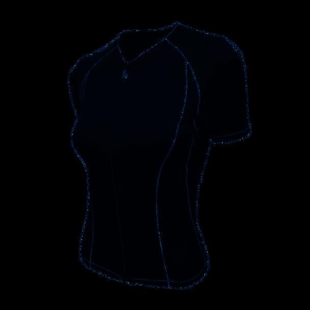Desoto Women's Femme Skin Cooler Short Sleeve Tri Top