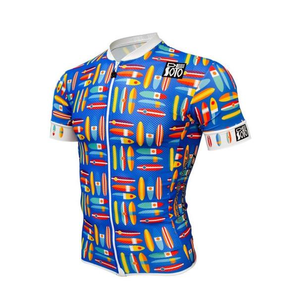 DeSoto Men's Skincooler Full Zip Short Sleeve Tri Top