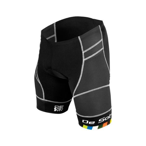 DeSoto Men's Riviera Tri Short - Black