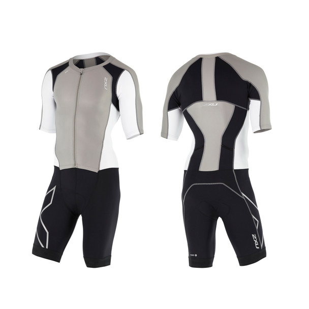 2XU Men's Compression Full Zip Sleeved Tri Suit