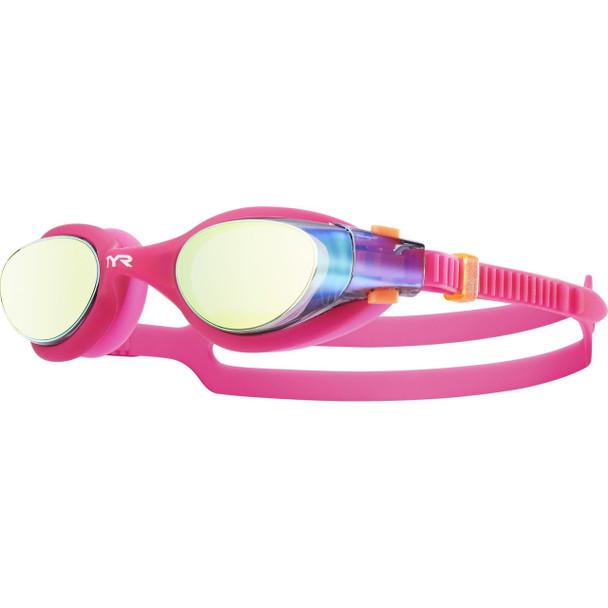 TYR Women's Vesi Femme Mirrored Goggle