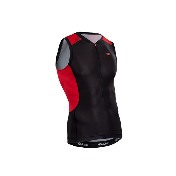 Sugoi Men's RS Tri Tank - Chili
