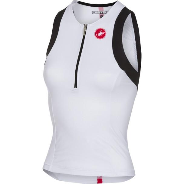 Castelli Women's Free Tri Singlet - White