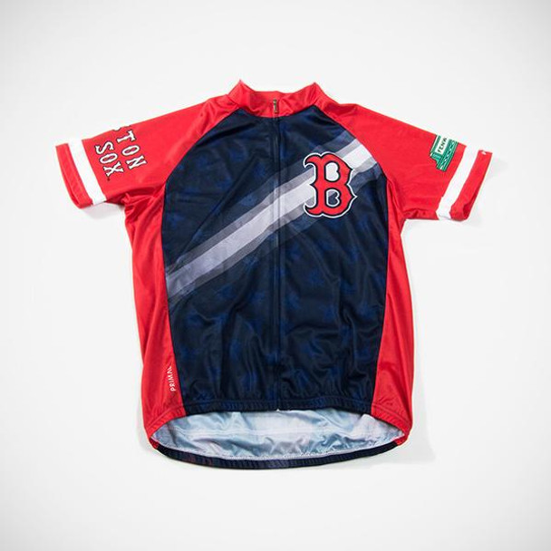 Primal Wear Men's Boston Red Sox V2 Cycling Jersey