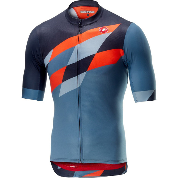 Castelli Men's Tabula Rasa Full Zip Bike Jersey