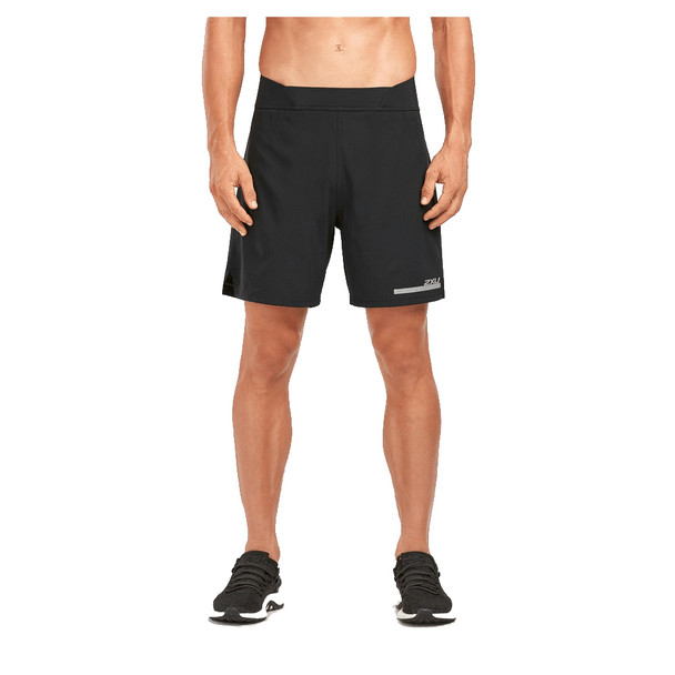 "2XU Men's Run 2 in 1 Compression 7"" Shorts"