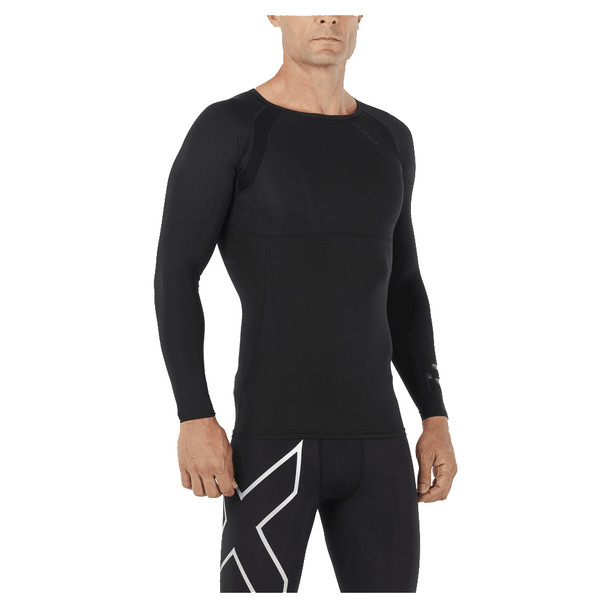 2XU Men's Refresh Recovery Compression Long Sleeve Top