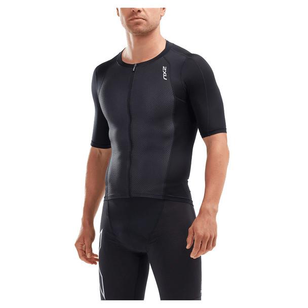 2XU Men's Compression Sleeved Tri Top