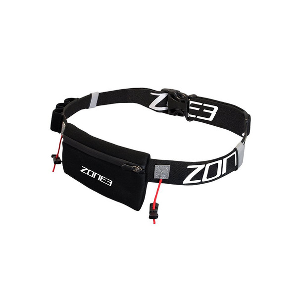 Zone3 Race Number Belt with Neoprene Pouch