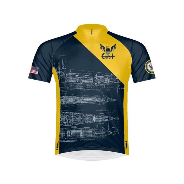 Primal Wear Men's US Navy Schematic Jersey