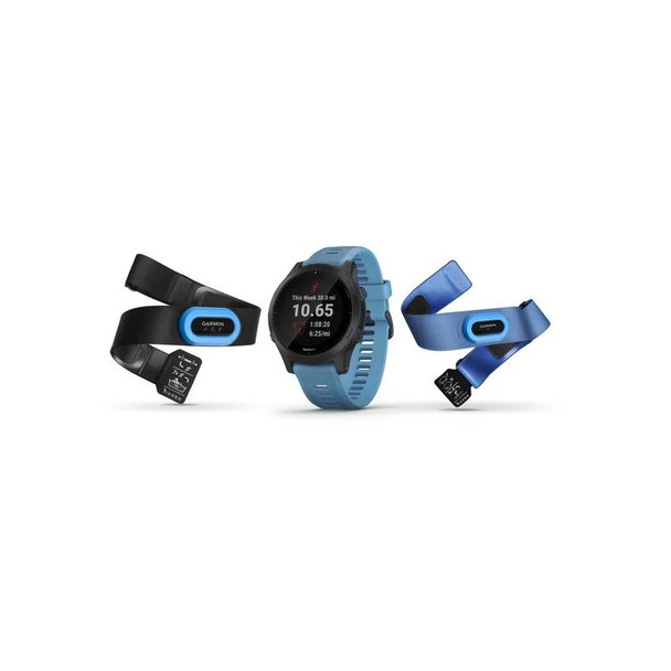Garmin Forerunner 945 GPS Smartwatch Bundle