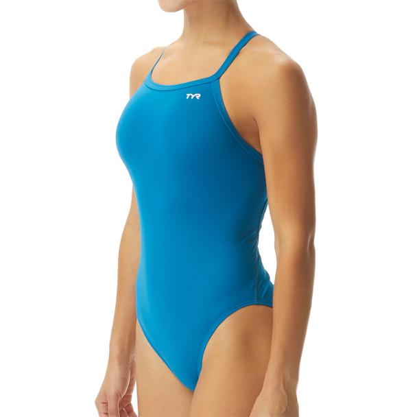 TYR Women's Durafast One Solid Diamondfit Swimsuit
