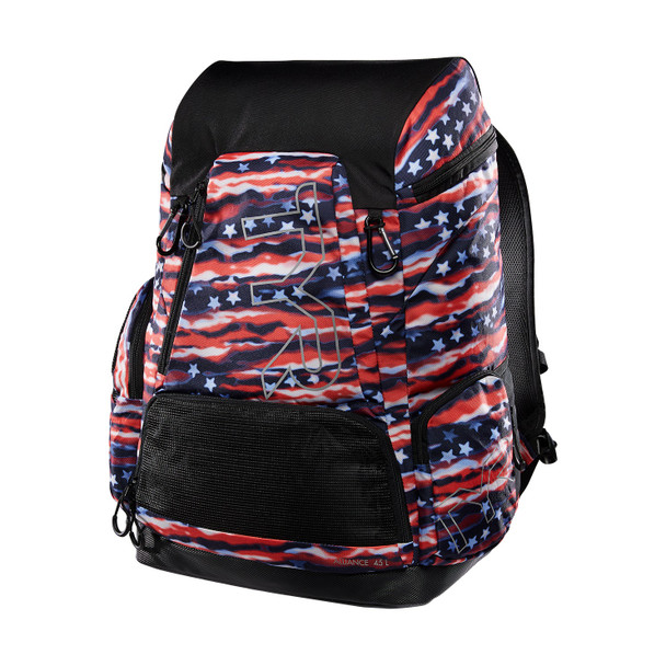 TYR Alliance 45L All American Print Backpack