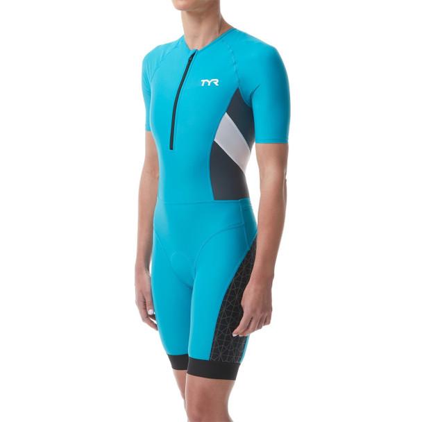 TYR Women's Competitor Short Sleeved Speedsuit