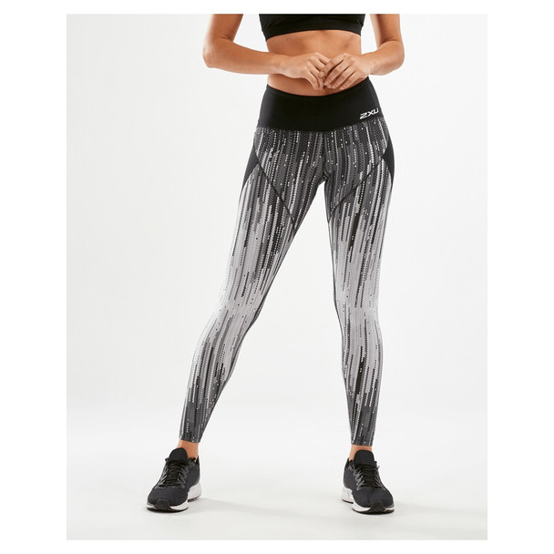 2XU Women's Mid-Rise Panel Compression Tights