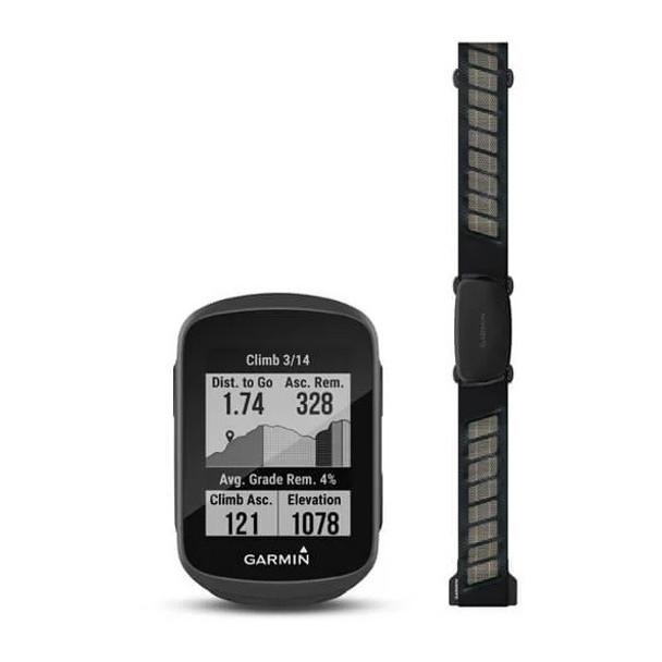 Garmin Edge 130 Plus GPS Bike Computer Bundle - With Heart Rate Monitor