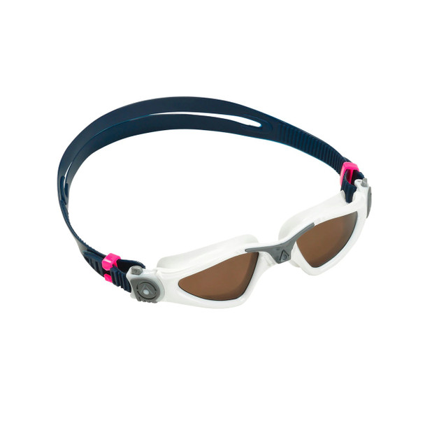 Aqua Sphere Kayenne Compact Fit Swim Goggle with Polarized Lens